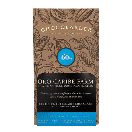 Chocolarder Cornish Oko Caribe Farm (70g)