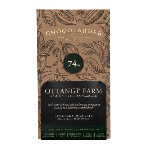 Chocolarder Cornish Ottange Farm (70g)