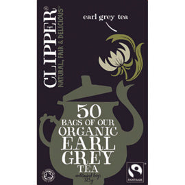 Clipper Earl Grey Tea 50 Bags