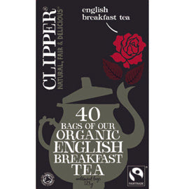 Clipper English Breakast Tea 40 Bags