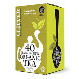 Clipper Everyday Organic Tea 40 Bags