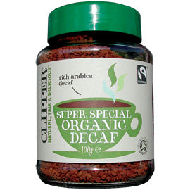 Clipper Instant Organic Decaf Coffee 100g