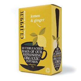 Clipper Lemon & Ginger 20 Bags