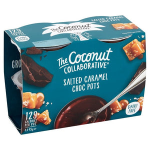 The Coconut Collaborative Salted Caramel Pots 45g