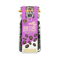 Mighty Fine Dark Chocolate Honeycomb Button Jar 900g
