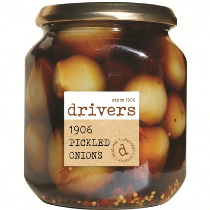 Drivers 1906 Pickled Onions 550g