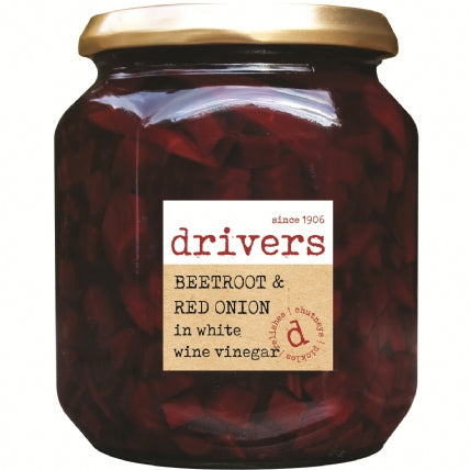 Drivers Beetroot & Red Onion In Vinegar 550g
