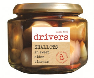 Drivers Shallots In Cider Vinegar 350g
