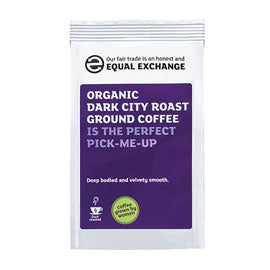 Equal Exchange Dark City Roast Ground Coffee 227g