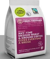 Equal Exchange Medium Roast Ground Coffee 227g