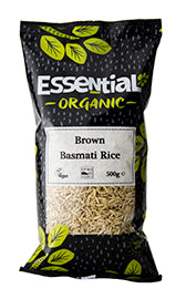 Essential Organic Brown Basmati Rice 500g