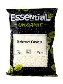 Essential Organic Desiccated Coconut 125g