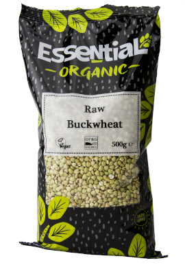 Essential Organic Raw Buckwheat 500g