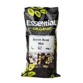 Essential Organic Seven Bean Mix 500g