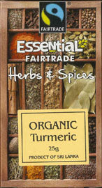 Essential Organic Ground Turmeric 25g