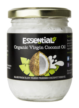 Essential Organic Virgin Coconut Oil 210ml