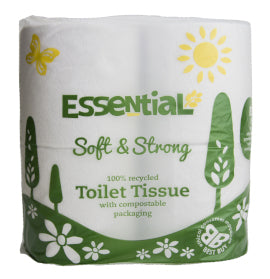 Essential Toilet Tissue (4) Recycled