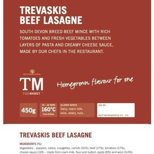 TF Homemade Beef Lasagne - Serves 1