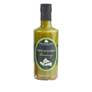 Garlic Farm Pesto & Garlic Dressing 500ml