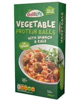Goodlife Vegetable Protein Balls Spinach & Kale