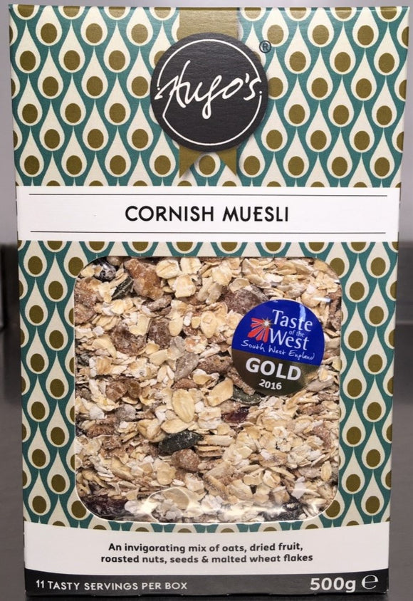 Hugos Cornish Muesli 500g