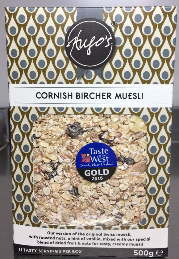 Hugos Cornish Bircher Muesli 500g