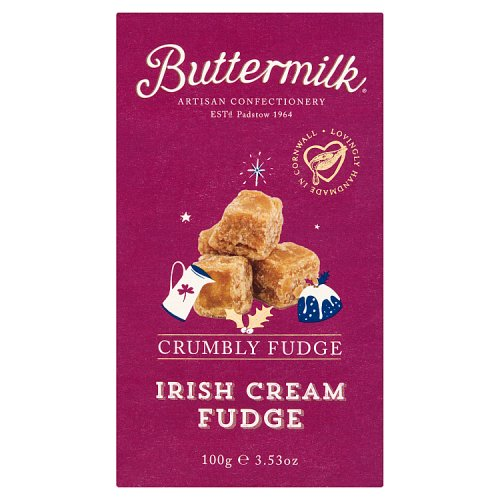 Buttermilk Crumbly Irish Cream Fudge 100g