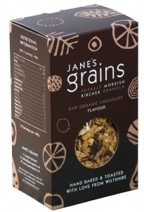 Janes Grains Bircher Granola Raw Chocolate