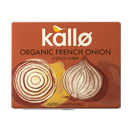 Kallo French Onion Stock Cubes 66g 50 % OFF