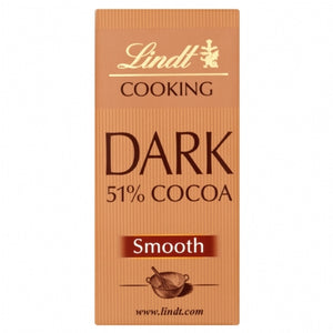 Lindt Cooking Chocolate 51% 200g