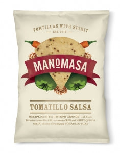 Manomasa Tomatillo Salsa Corn Chips 160g