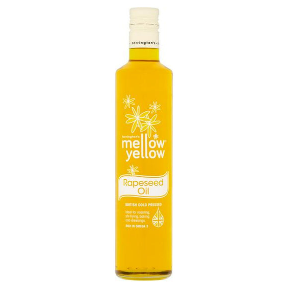 Mellow Yellow Cold Pressed Rapeseed Oil 500ml