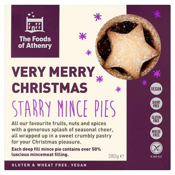 Foods of Athenry Fruity Mince Pies GF 280g