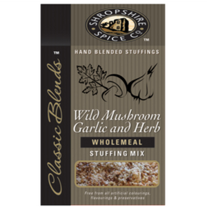 Shropshire Spice Co Mushroom, Garlic and Herb Wholemeal Stuffing Mix 150g