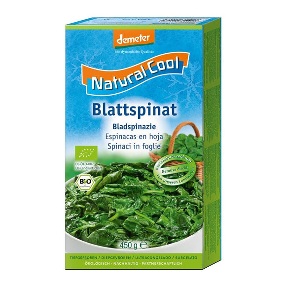 Natural Cool Frozen Spinach