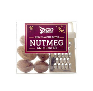 Green Cuisine gift pack of nutmeg and grater