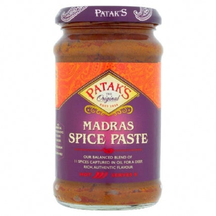 Pataks Madras Spice Paste 283g