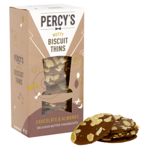 Percys Nutcracker Thins Cheeky Chocolate & Almond