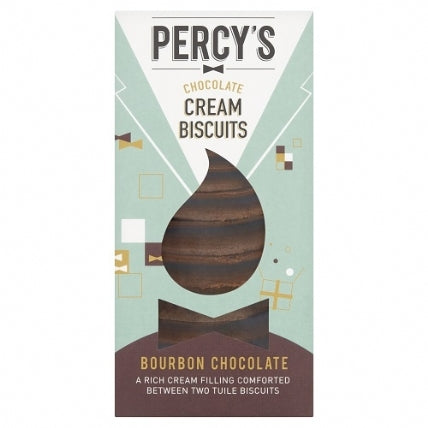 Percys Delightful Creams Luxury Bourbon 135g