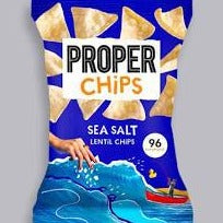 Proper Chips Sea Salt Lentil Chips 85g