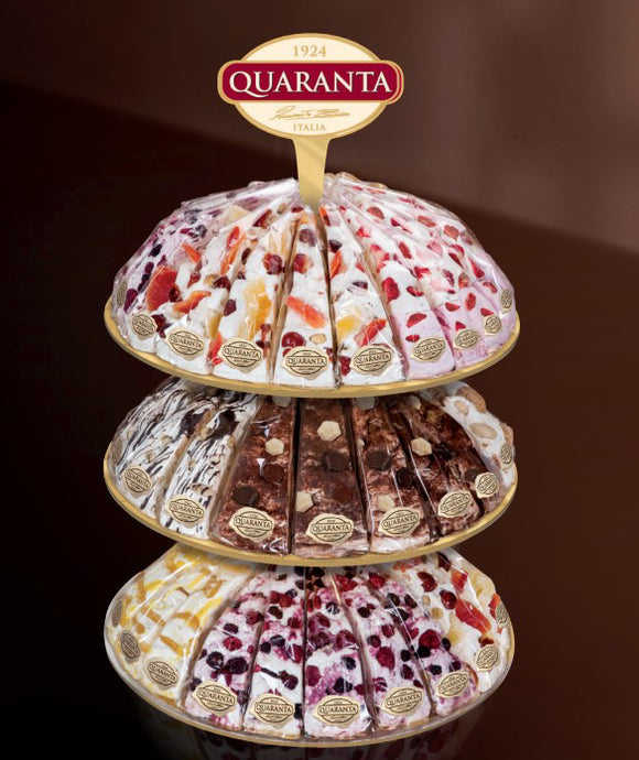 Quaranta Nougat Slice Selection 165g