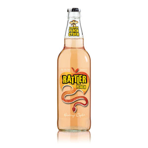 Rattler Peach Cider 500ml
