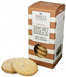 Simply Cornish Choc Shortbread 200g