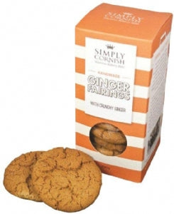 Simply Cornish Ginger Nuts 200g