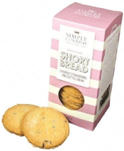Simply Cornish Strawberry & Cream 200g