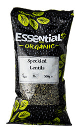 Essential Dark Speckled Lentils 500g