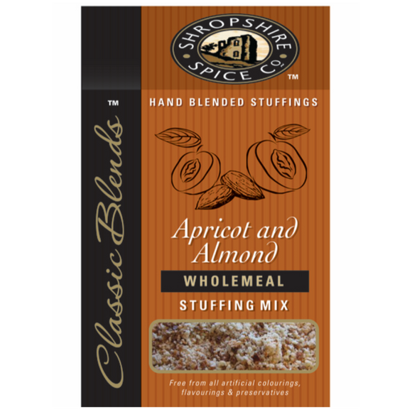 Shropshire Spice Co Apricot & Almond Wholemeal Stuffing mix 150g