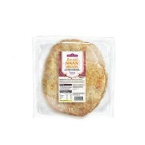 The Curry Sauce Co Plain Naan Bread 260g