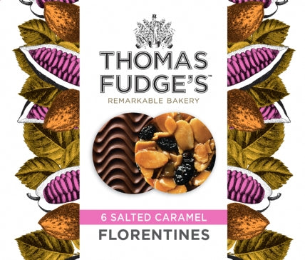 Thomas Fudges Salted Caramel Florentines