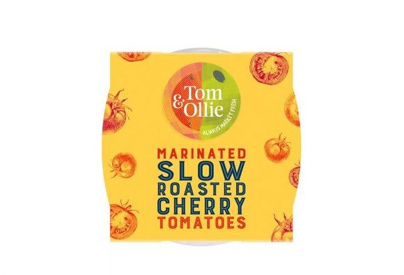 Tom & Ollie - Slow Roasted Cherry Tomatoes 150g